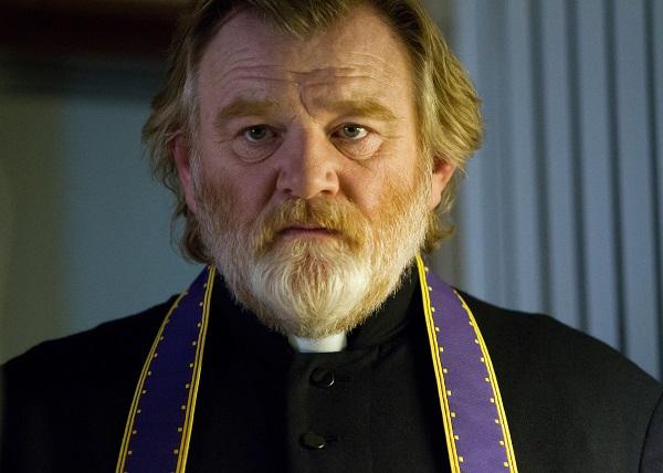 "Brendan Gleeson as ""Father James"" in CALVARY. Photo by Jonathon Hession. Copyright © 2014 Twentieth Century Fox."