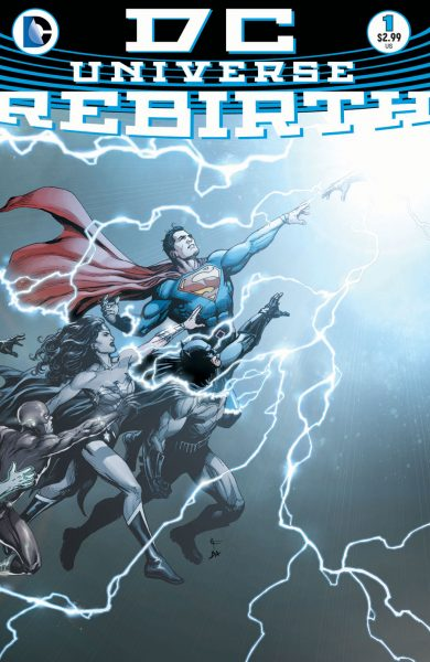 DC Universe: Rebirth #1 Cover