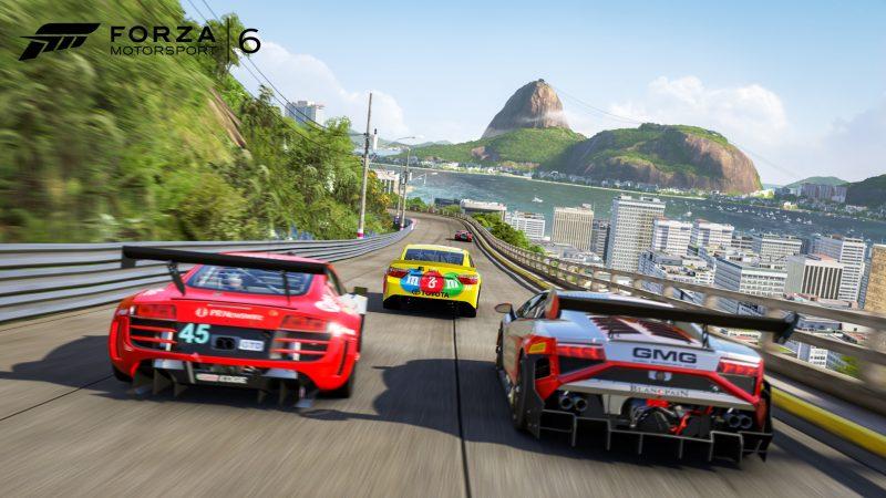 NASCAR racing on Rio