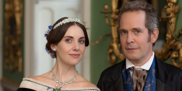 HAT TRICK FOR ITV DOCTOR THOREN EPISODE 3 Pictured:TOM HOLLANDER as Doctor Thorne and ALISON BRIE as Miss Dunstable. This image is the copyright of ITV and must only be used in relation to DOCTOR THORNE.
