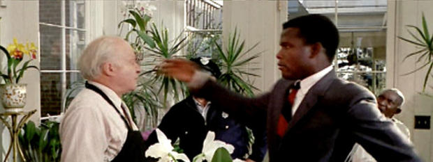 """Sidney Poitier as detective Virgil Tibbs """"In the Heat of the Night."""" 1967; United Artists"""