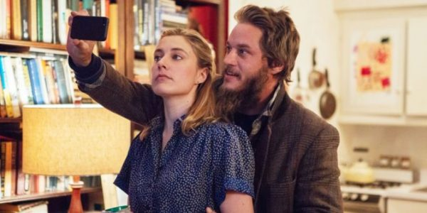 MAGGIE'S PLAN, from left: Greta Gerwig, Travis Fimmel, 2015. ph: Jon Pack/© Sony Pictures Classics