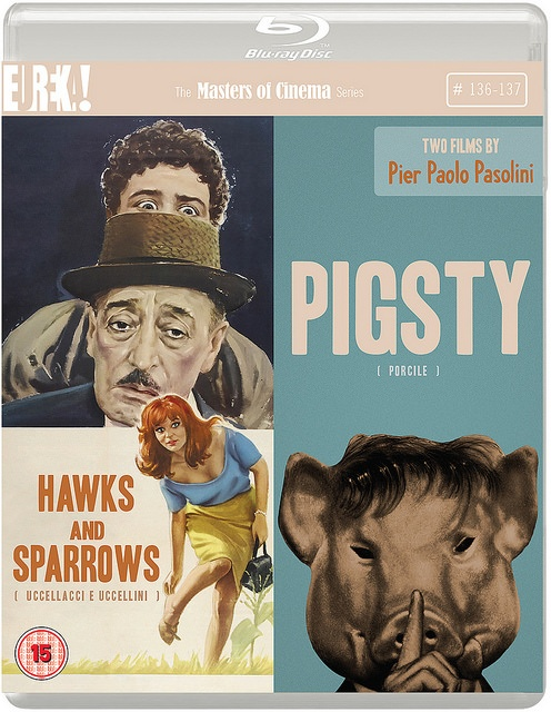 Hawks and Sparrows Pigsty Blu-ray
