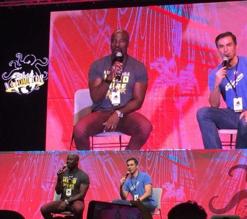 Luke Cage Mike Colter - L.A. Comic Con - 1