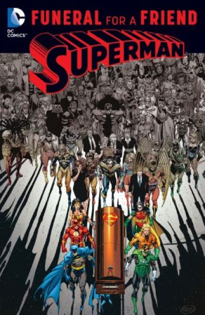 superman funeral for a friend - comic characters evolve