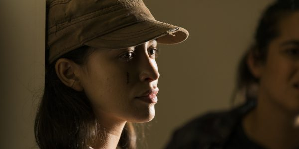 Christian Serratos as Rosita Espinosa - The Walking Dead _ Season 7, Episode 9 - Photo Credit: Gene Page/AMC