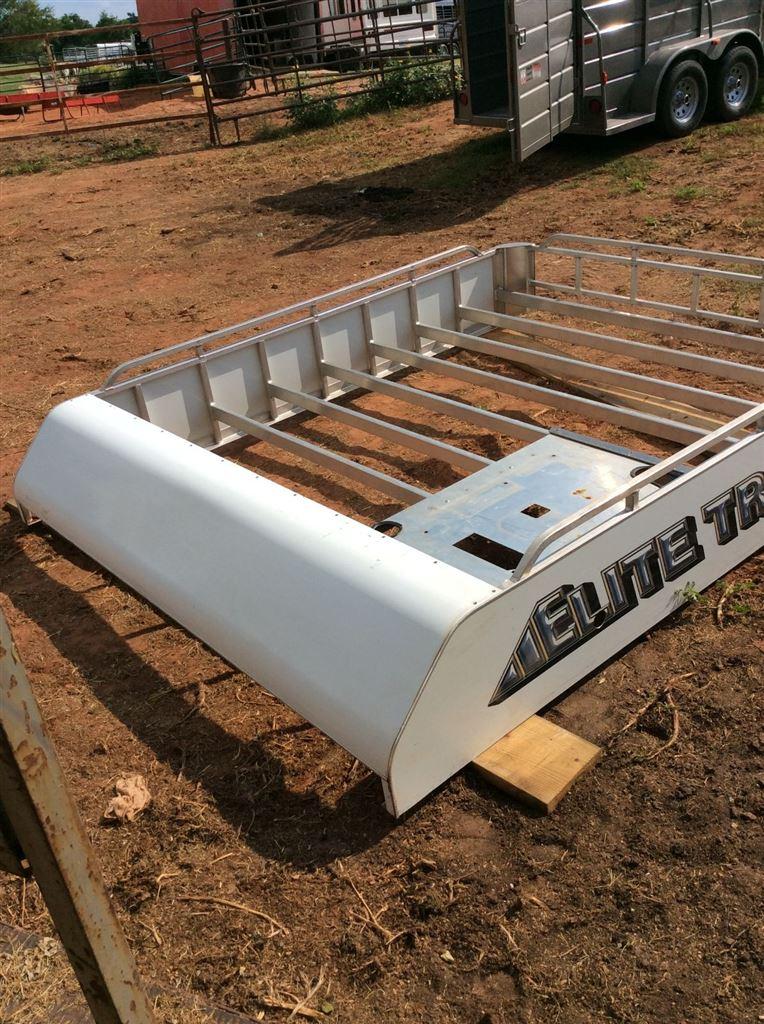 8 x10 aluminum hay rack 8 wide elite