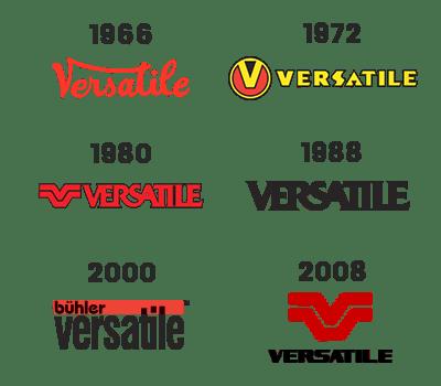 Versatile Logo History Since 1966