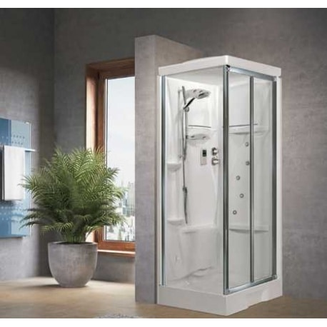 cabine de douche new holiday sf 100x80 novellini