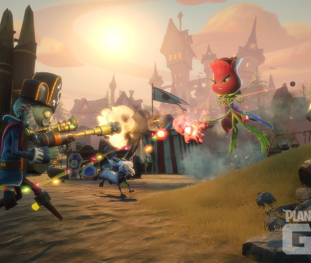 As Far As Modes Go Not Much Has Changed Since Garden Warfare The New Graveyard Ops Mode Is Essentially The Same As Garden Ops A  Player Cooperative