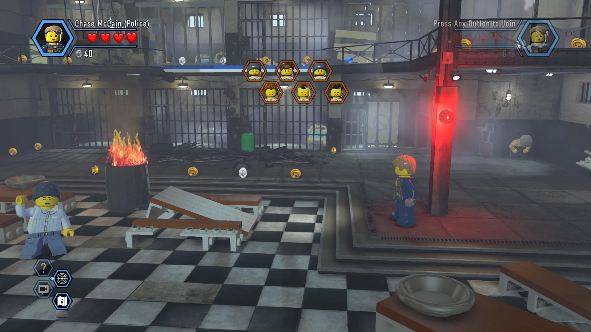 LEGO City Undercover Walkthrough Chapter 3 Guide Albatross Prison Island Walkthroughs