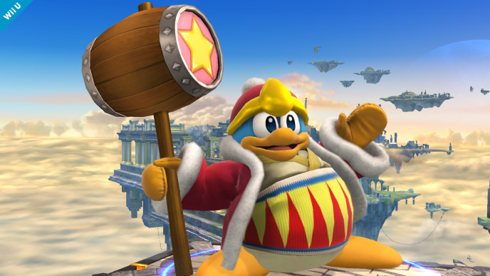 King Dedede Confirmed For Super Smash Bros Wii U3DS