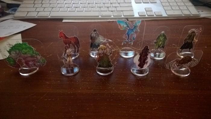 ArcKnights Flat Plastic Miniatures Kickstarter Wants