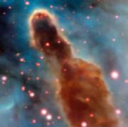 Karina bulutsusu içindeki R18 bölgesi (Telif: ESO/A. McLeod).