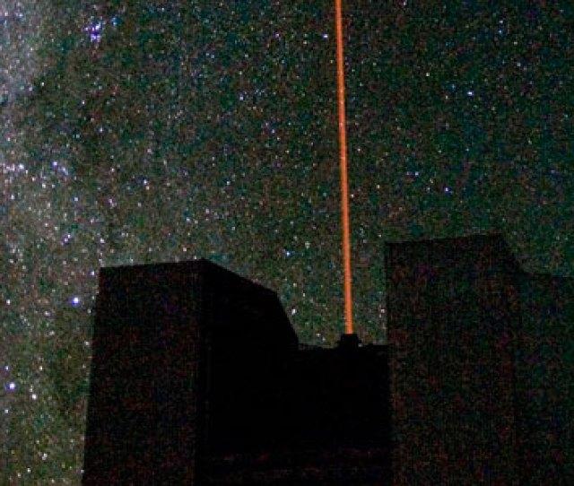 First Light For The Vlt Laser Guide Star Facility