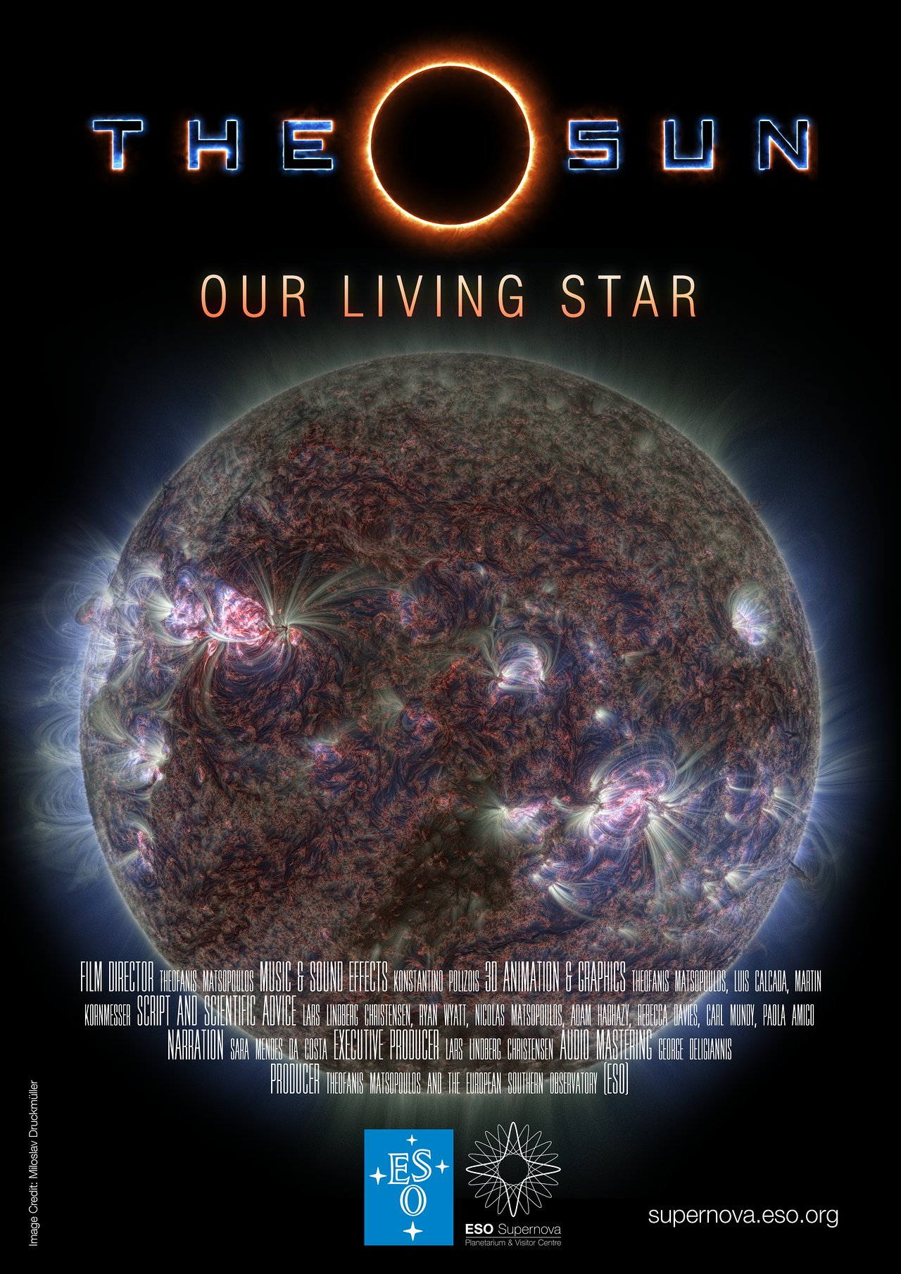New Planetarium Show The Sun Our Living Star