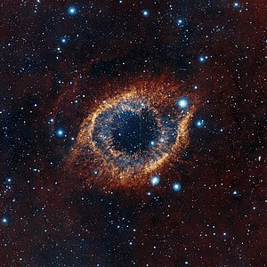 Una mirada de VISTA a la Nebulosa de la Hélice