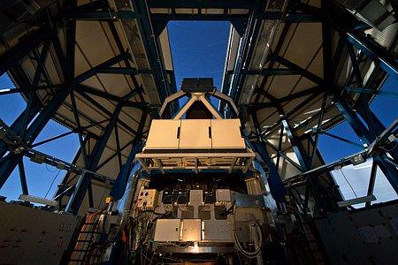 VST, el telescopio de sondeo del VLT