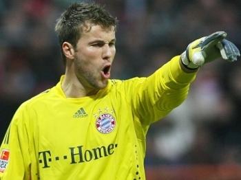 Rensing, em ação pelo Bayern em 2009