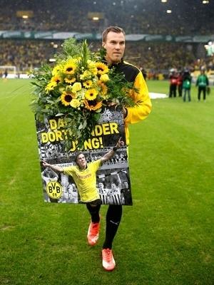 Großkreutz, um 'rapaz de Dortmund', deixou o clube em setembro de 2015