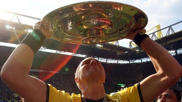 Großkreutz foi bicampeão da Bundesliga com seu clube de coração