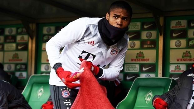 Douglas Costa Bayern Werder Bremen Campeonato Alemão 28/01/2017