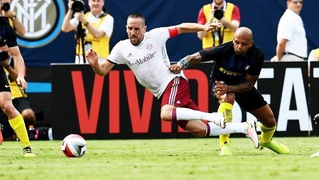Ribery Bayern Felipe Melo Inter de Milão Amistoso 30/07/2016