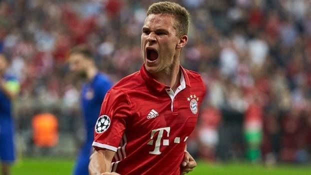 Kimmich soma oito gols na temporada - sete pelo Bayern e um pela Alemanha