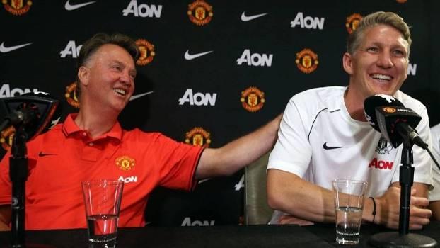 Van Gaal Bastian Schweinsteiger United 16072015