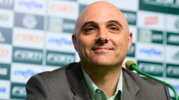 Resultado de imagem para atual presidente do Palmeiras