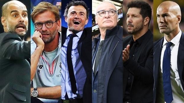 Fifa The Best Melhor Treinador Masculino Mosaico 2016