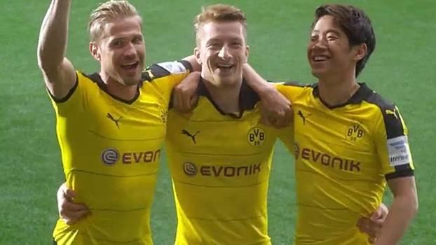 Nova camisa do Borussia Dortmund foi divulgada em um vídeo da Puma