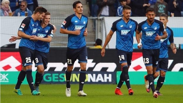 Süle (25) marcou o gol da vitória do Hoffenheim sobre o Hertha Berlin