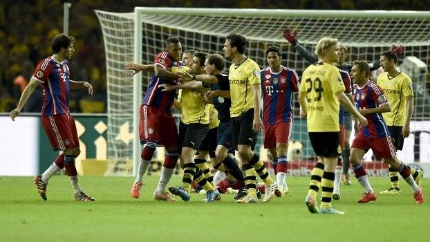 Bayern e Dortmund disputam mais uma final neste sábado