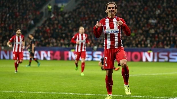 Griezmann marcou um dos gols do Atlético