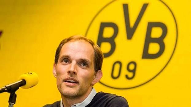 Thomas Tuchel foi apresentado no Borussia Dortmund nesta quarta-feira