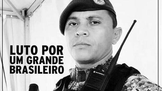 Soldado Hélio Vieira morreu após viatura se perder e ser atacada na Maré
