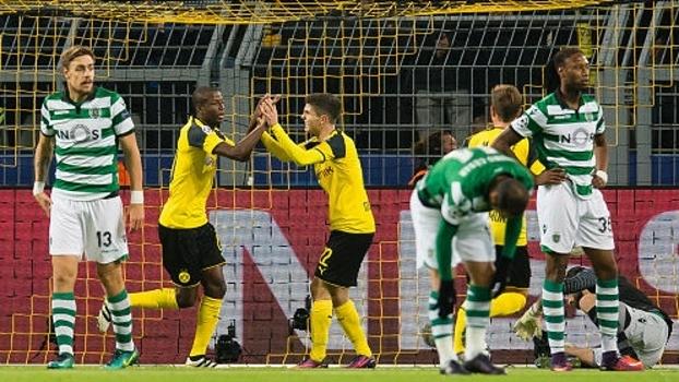Ramos abriu o placar para o Borussia Dortmund