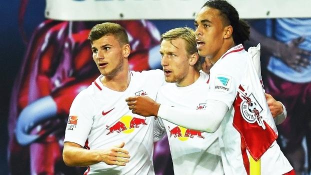 RB Leipzig aposta em jovens jogadores