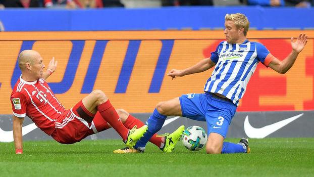 Resultado de imagem para Hertha Berlin vence o Bayern de Munique
