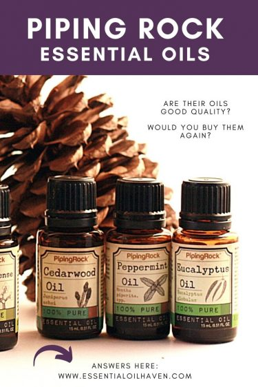 piping rock essential oils review