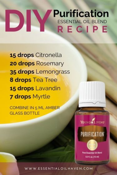 young living purification recipe