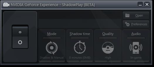Nvidia ShadowPlay Spécial (3)