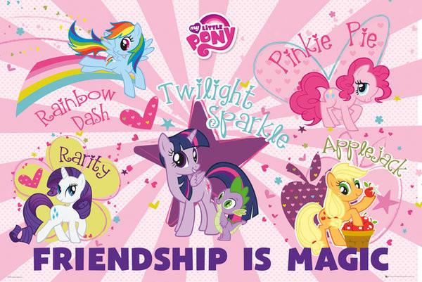 Poster do filme My Little Pony: O Filme