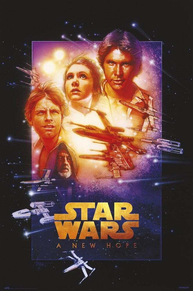 poster star wars episode iv a new hope
