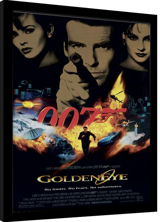 james bond 007 goldeneye framed poster buy at europosters