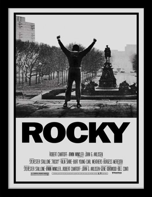 rocky rocky i framed poster buy at europosters