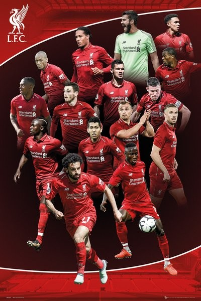Liverpool FC Maxi Poster 61 x 91,5 cm Europe 2019 Posters ...