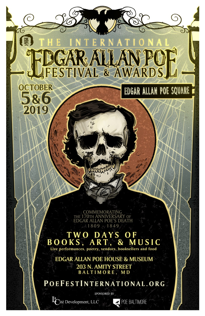 Poe Fest Int'l, October 5 and 6, 2019