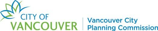 Vancouver City Planning Commission wordmark